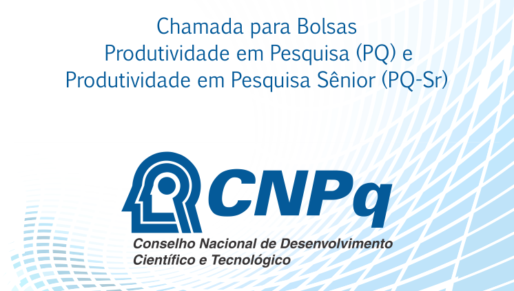 CNPq recebe propostas de bolsas PQ e PQ-Sr