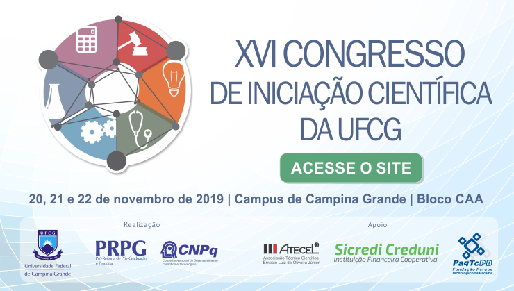 XVI Congresso de Iniciação Científica da UFCG